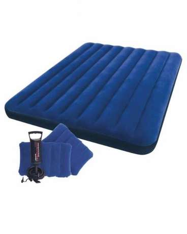 INTEX Classic Downy Airbed Set with 2 Pillows & Double Quick Hand Pum Nairobi CBD - image 1