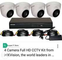 4HD CCTV cameras package night vision 25000 only sale