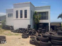 one 240 /40/18 tyre used