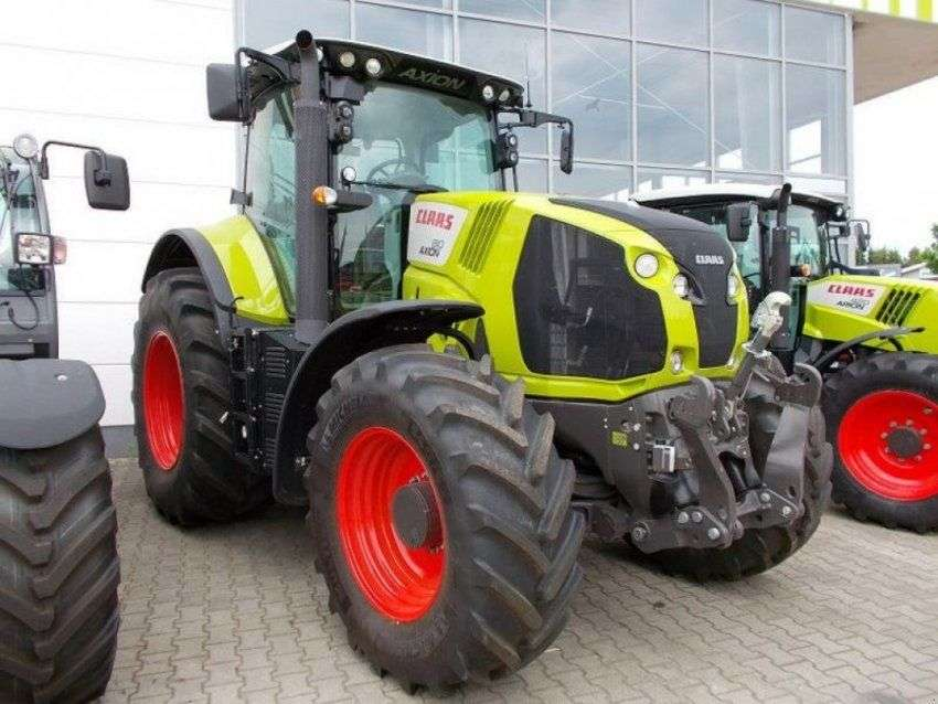 Claas Traktor Axion 810 Cis - 2014