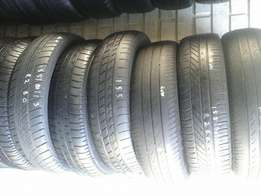 155/80/13, 165/80/13 second hand tyres