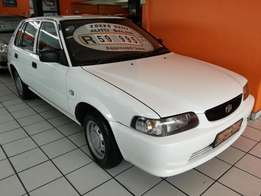 2002 Toyota Tazz 130 Service History, Immaculate Condition!!