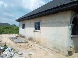 One 2bedroom flat and 4 self contain for sale at oteri ughelli