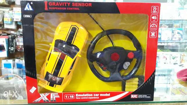 Emulation car model new suspension controler