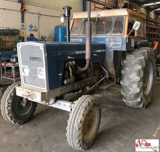 Ebro 684 e wheel tractor for parts