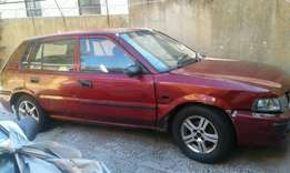 Toyota tazz for sell