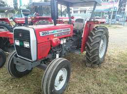 MF 360 with 60 Horse Power,Perkins Engine,Warranty and 3Disc Plough