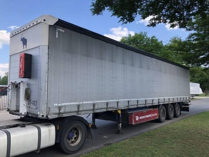 Schmitz Cargobull Schuifzijlen/schuifdak/coilgoot - 2010