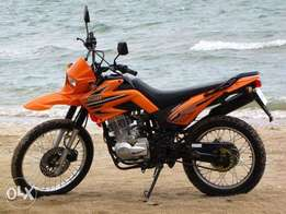 Lifan dual sports bike- LF200GY-5A with free comprehensive insurance