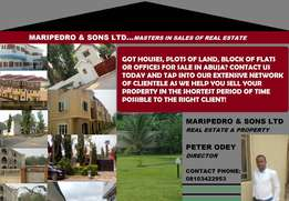 Real estate & property marketers!! Within ABUJA premises!!