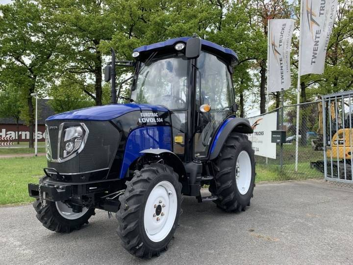 New Holland Tractor Agri Met Cabine Eurotrac Lovol 504 Iii C Tb-1 4x4 - 2017