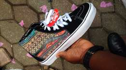 Vans collection with mixed brands