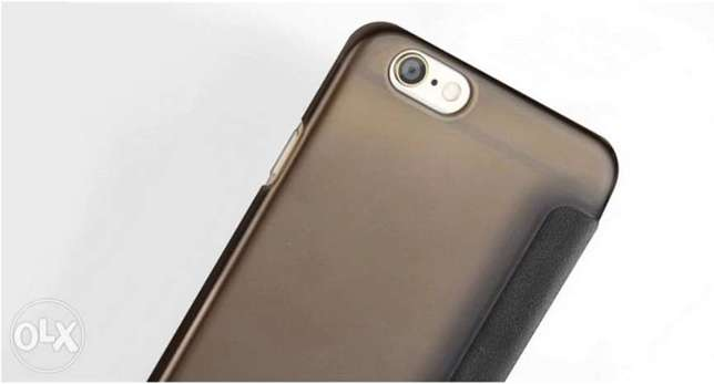 Mofi Ultrathin PU and PC Cover Case for iPhone 6/6s - BROWN الرياض -  6