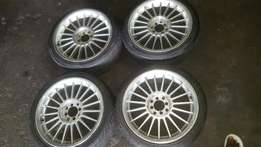 17 inch multiple how's with tyres 205/40/17