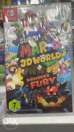 Super Mario 3D World + Bowsers Fury (New!)