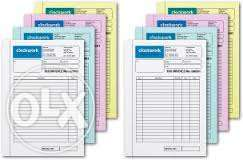 Interested in Large Printing Services of Invoice books Receipt,Quotati