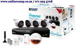 KGuard Easy Link PLUS 4 Channel and 4 Cameras