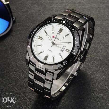 SW Leisure time work time Curren 8110 Watch BW Mountain View - image 3