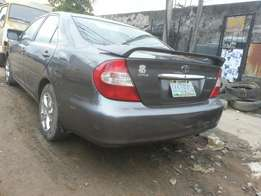 2003 Toyota Camry registered