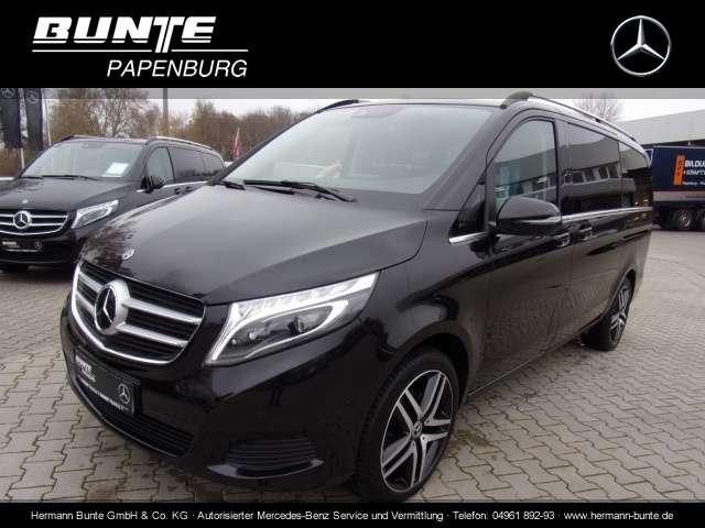 Mercedes-Benz V 220d  Edition, Leder, Comand, Distr., 360 Bluetooth Navi LED Vollleder Klima Einparkhilfe el. Fenster - 2018
