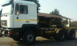 1996 Man 26 362, Twin Turbo, V8 Very good condition, R175000.00