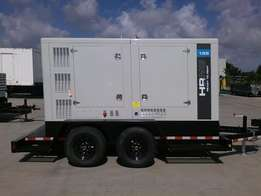 165 KVA Perkin Diesel With Trailer Sound Proof