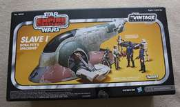 "Star Wars 3 3-4"" Vintage Collection Boba Fett's Slave 1 Space Ship"