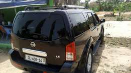 Nissan Pathfinder registered