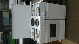 ELBA German 6 burners gas cooker oven with grill, and cylinder space .