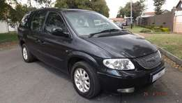 2001 Chrysler Grand Voyager 3.3 in good condition