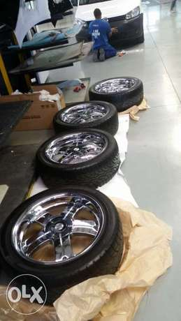 brand new 20inch rims & tyres 6k bargin giveaway Midrand - image 1