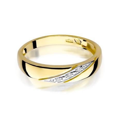 Zaręczynowy Pierścionek Z Brylantami żółte Białe Złoto Grawer Sklep