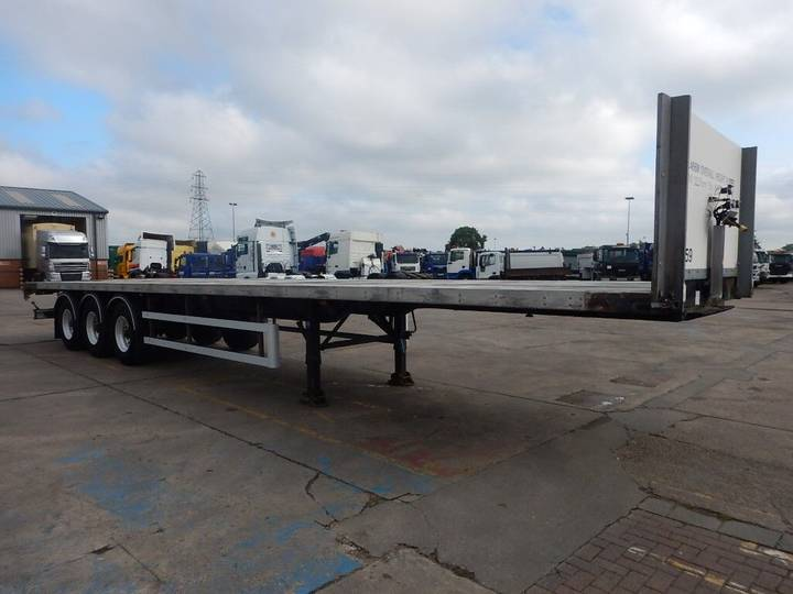SDC 44FT FLATBED TRAILER - 2008 - C264613 - 2008