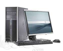 "Complete Core 2 duo 3.0ghz, 160/2gb, 17"" monitor/desktop Free speakers"