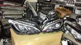 Mercedes benz w205 font head light