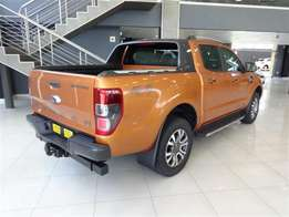 2016 Ford - Ranger VII 3.2 TDCi Wildtrak Double Cab 4X4 Auto for sale