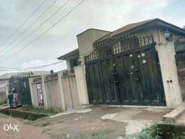 Vacant Well finished 5Brm duplex Wt 2units of 3Brm at Ipaja For Sale