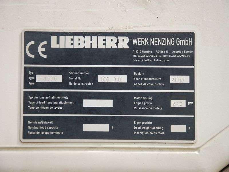 Liebherr LR 1200 Boom 65 mtr + Luffing jib 83 mtr - 2005 - image 8