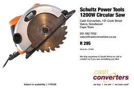 Schultz Power Tools 1200W Circular Saw