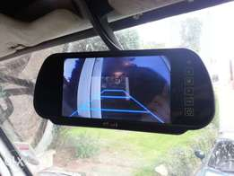 Bluetooth/USB centre mirror: For Toyota,nissan,subaru,honda,vw:8500
