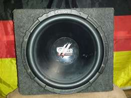 15'' Calibra nemesis sub & box