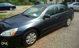 Honda Accord EoD 2003 clean Tokunbo Lagos cleared For Sale 1.550m
