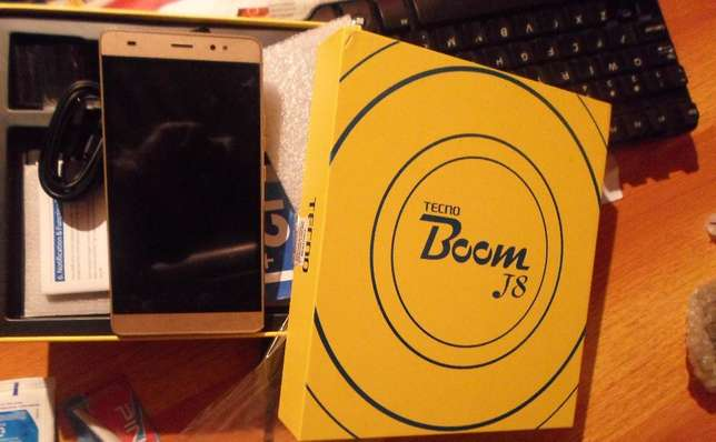 New Tecno Boom J8 Sealed Westlands - image 3