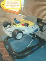 Racing car walker still brand new