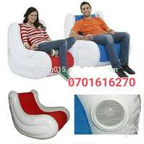 Air inflatable relax chairs with stereo speakers