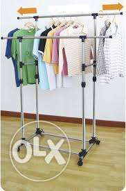 Double pole clothes hanger Lagos - image 1