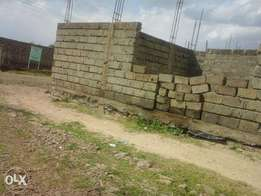 Partly Built Plot for Sale In Mwihoko with Title