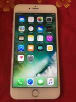 Iphone 6s plus 128gb silver used for One week with box and accessories