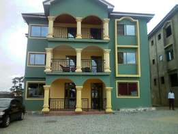 Three bedrooms house for rent at Kwabenya A C P road one year advance