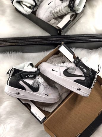 Buty Nike Air Force 1 Mid Utility White r40 45 Lublin • OLX.pl